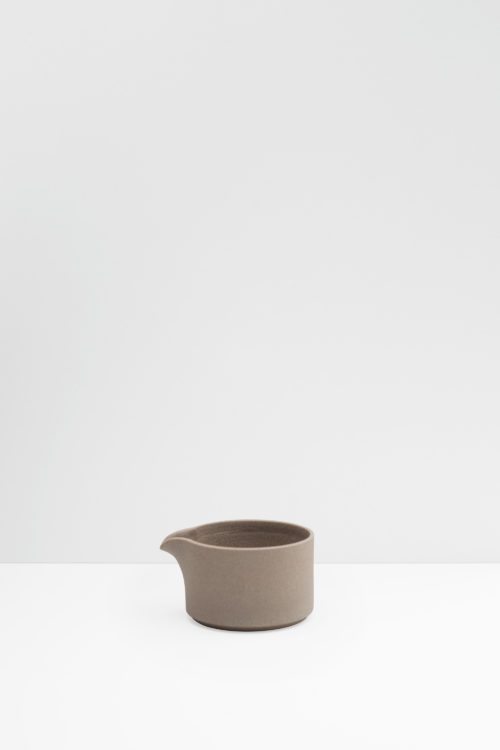 Hasami Porcelain milk pitcher natural matte