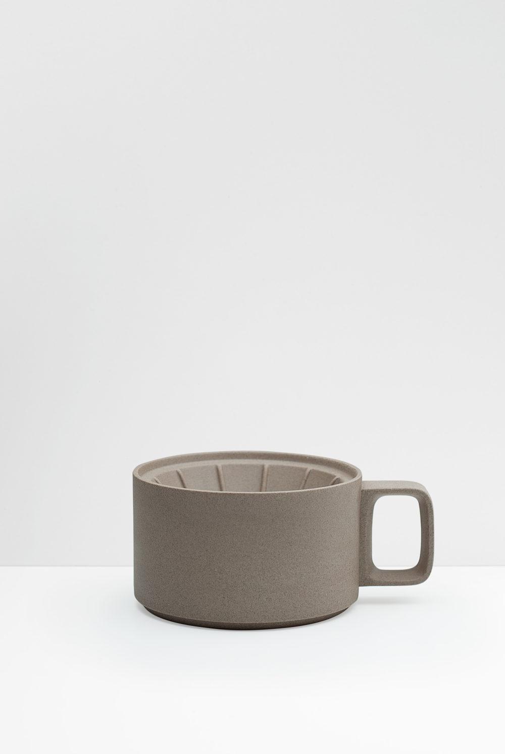 Hasami Coffee dripper natural matte