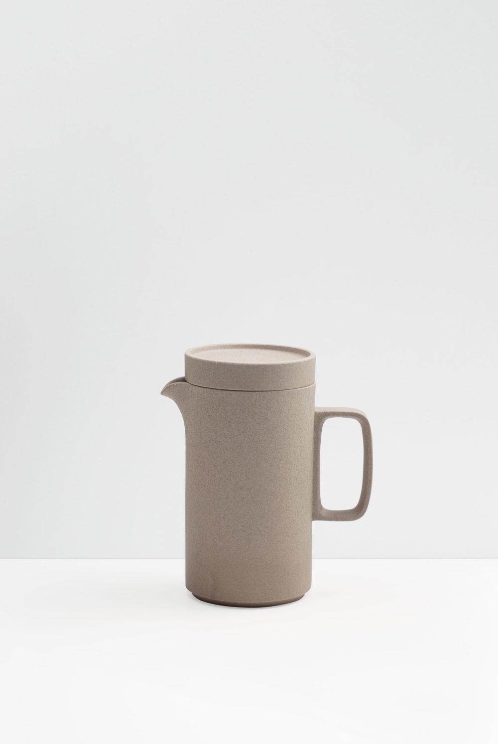 Hasami Porcelain tea pot in natural matte