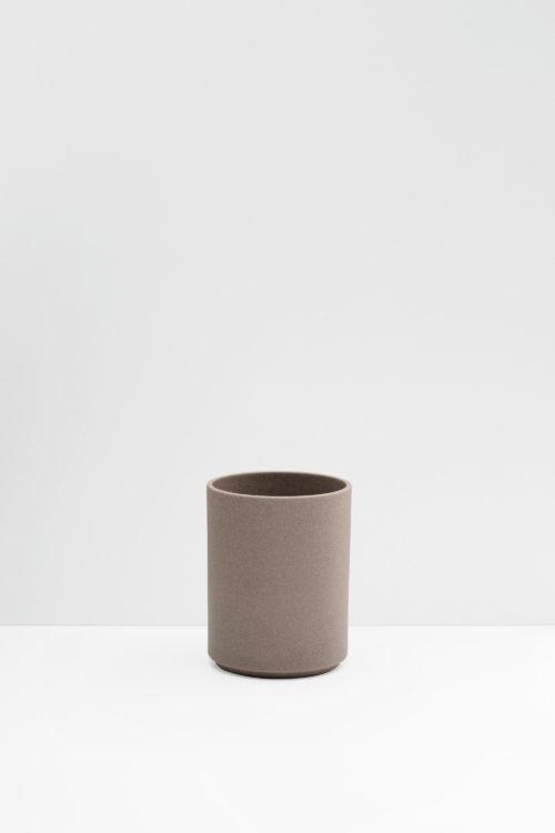 Hasami Porcelain flower pot in natural matte
