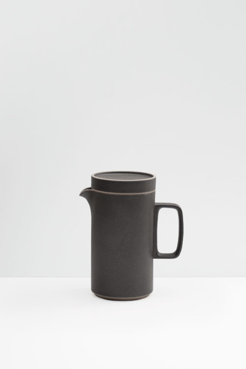 Hasami Porcelain tea pot in matte black