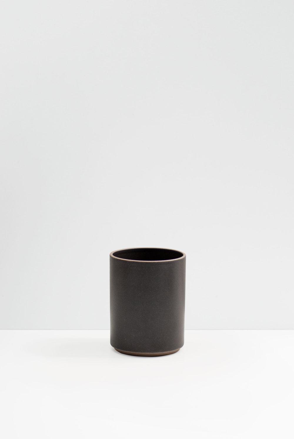 Hasami utensil holder in matte black