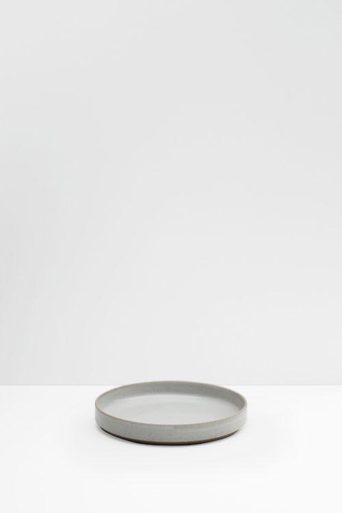Hasami Porcelain gray glazed plate