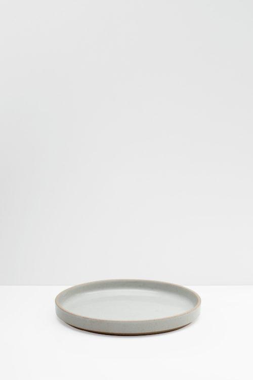 Hasami Porcelain appetizer plate gray glazed
