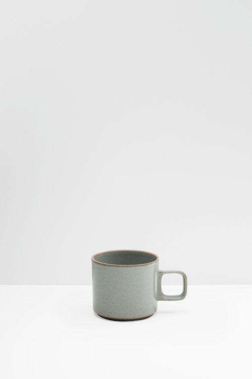 Hasami Porcelain mug gray glazed