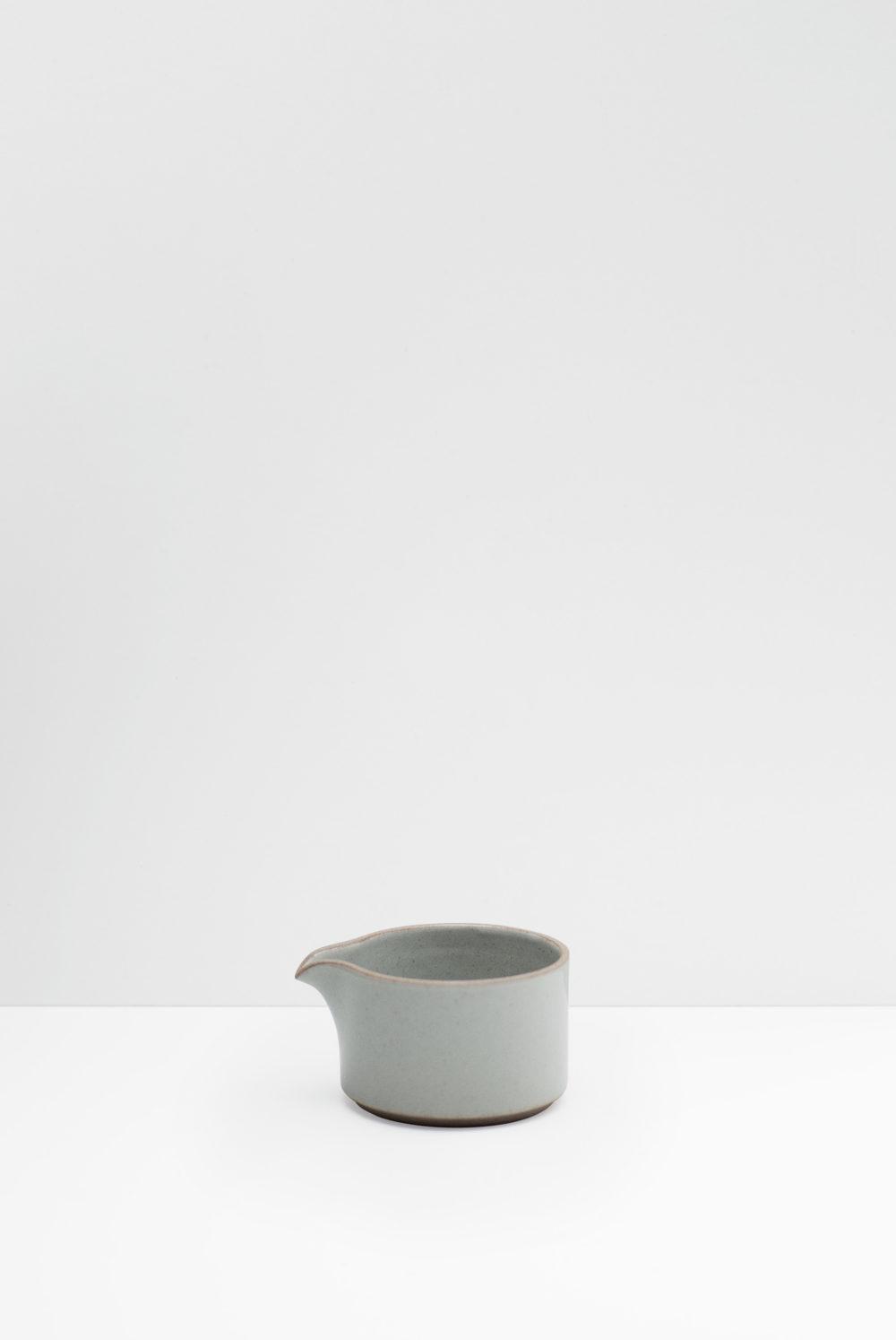 Hasami Porcelain milk pitcher gray glazed
