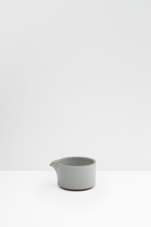 Hasami Porcelain milk pitcher gray glazed