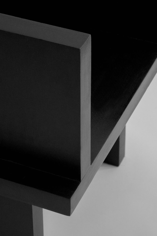 Sizar Alexis Itoo Raba Lounge Chair Black