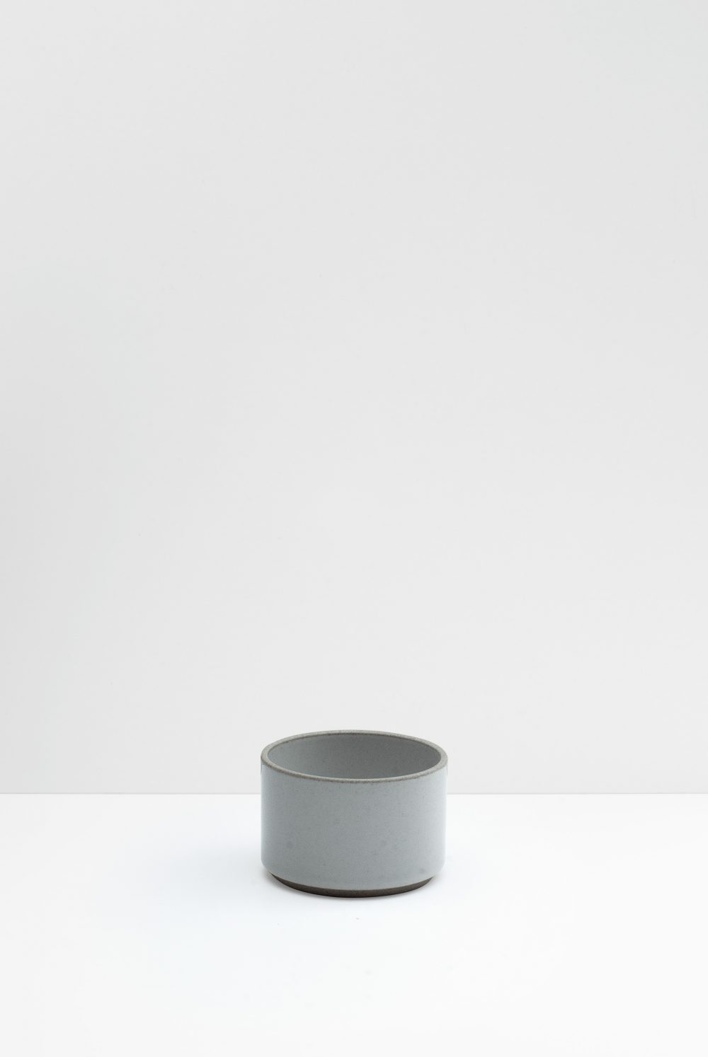 Hasami Porcelain Cup Gray Glazed