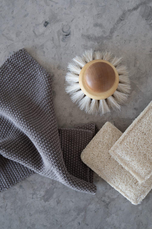 Iris Hantverk Dish Cloth Dishbrush Loofah Scour Pad