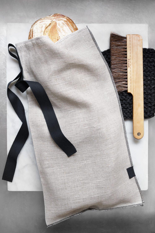 Iris Hantverk Linen Bread Bag