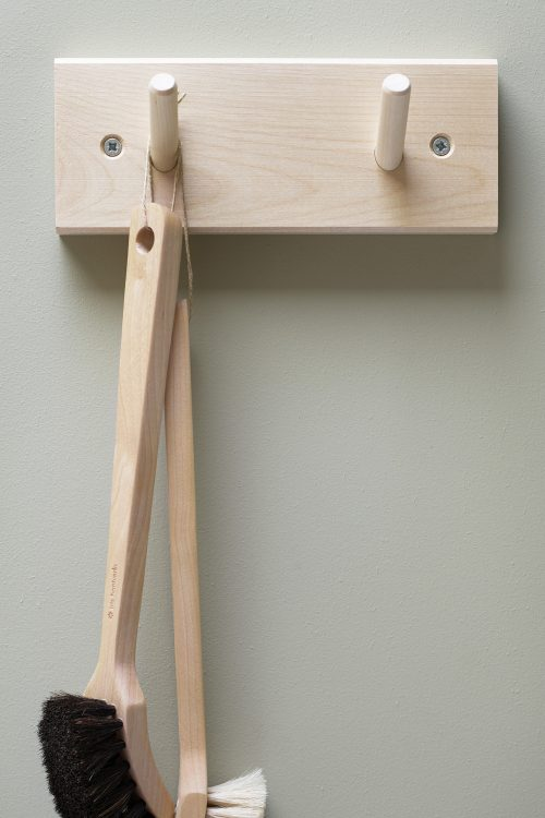 Iris Hantverk Wooden Rack With Hooks
