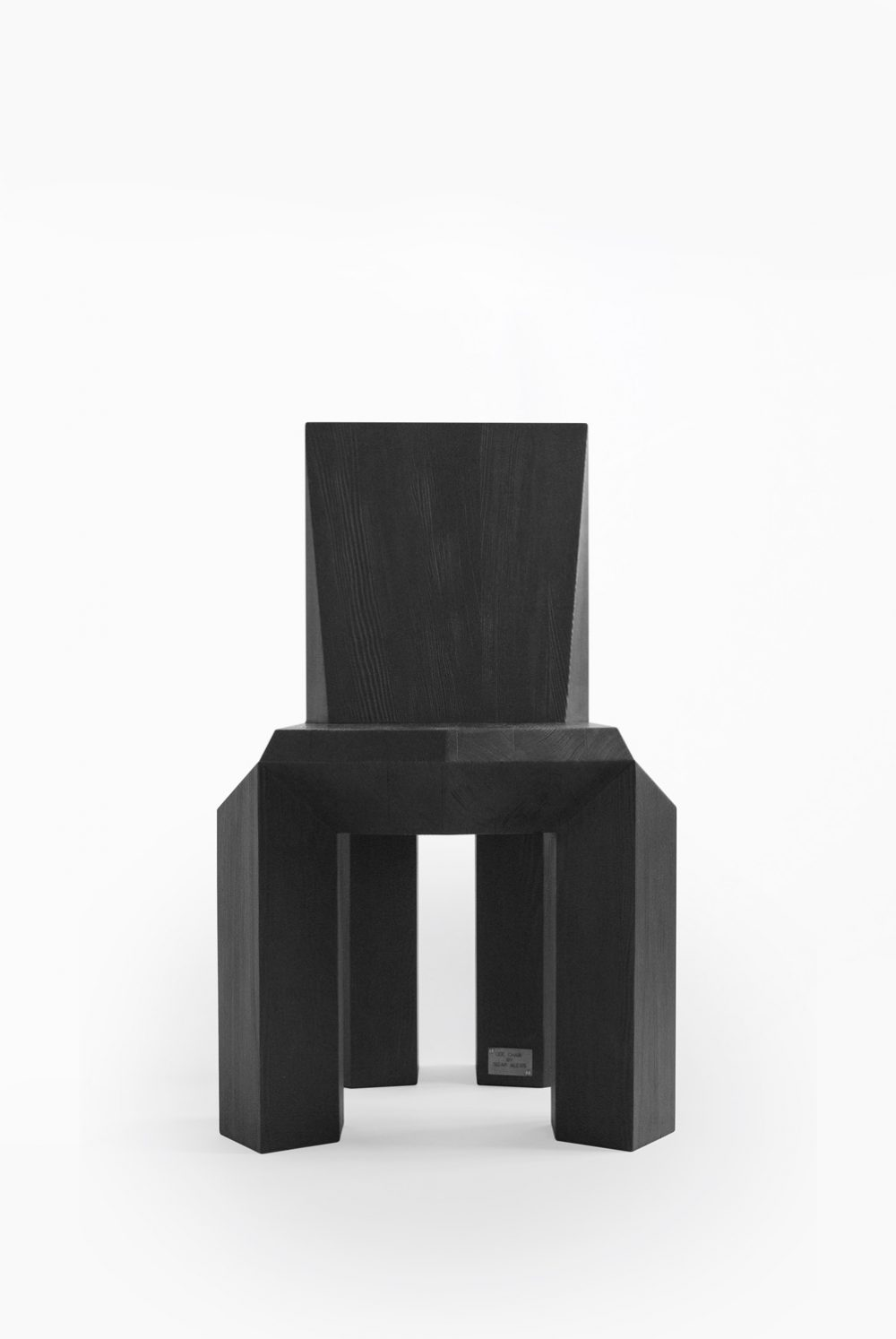 Sizar Alexis Ode Chair Charred Wood Pine